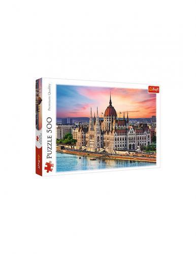 Puzzle trefl 500 orasul budapesta - Jocuri pentru copii - Jocuri cu puzzle