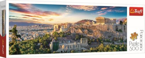 Puzzle trefl 500 panorama acropolis atena - Jocuri pentru copii - Jocuri cu puzzle