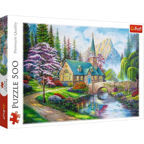 Puzzle trefl 500 peisaj mirific - Jocuri pentru copii - Jocuri cu puzzle