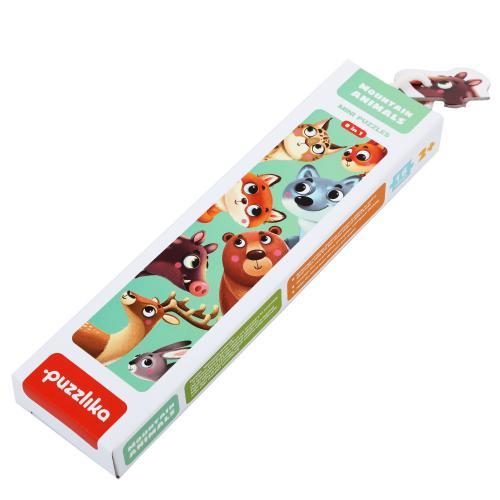 """Puzzle-ul """"animalutele de la munte"""" - Jocuri pentru copii - Jocuri cu puzzle"""