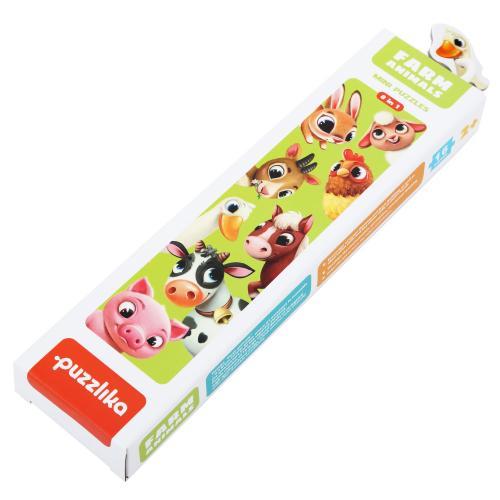 """Puzzle-ul """"ferma animalelor"""" - Jocuri pentru copii - Jocuri cu puzzle"""