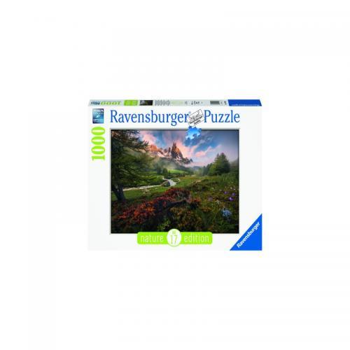 Puzzle Vale De Munte - 1000 Piese - Jocuri pentru copii - Jocuri cu puzzle