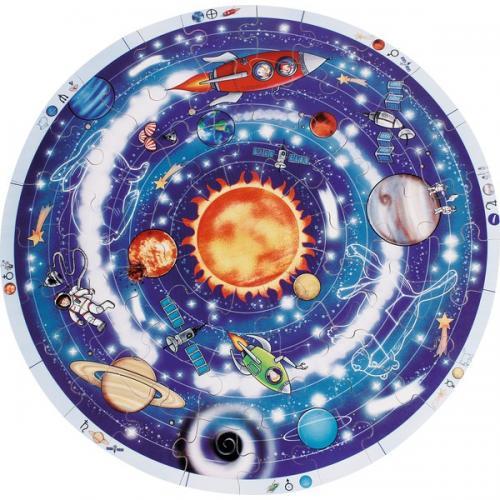 Puzzle XXL Planetele - Jucarii copilasi -