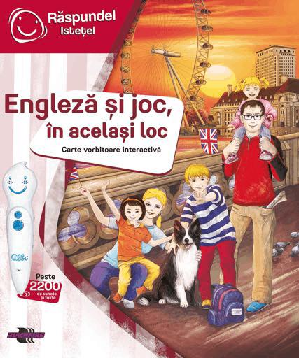engleza carte copii cu creion vorbitor