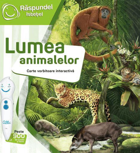 carti pentru copii vorbitoare lumea animalelor