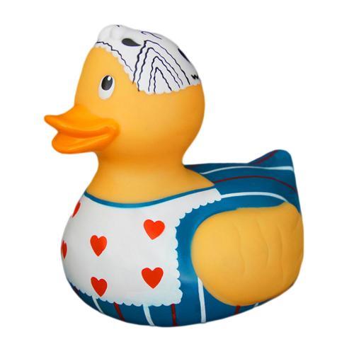 Ratusca de baie Inimioare Eddy Toys 25 cm - Jucarii bebelusi - Jucarii baita