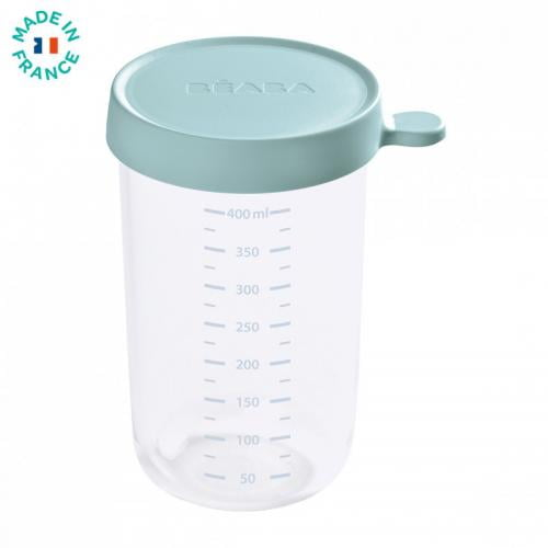 Recipient ermetic sticla 400ml - Verde - Hrana bebelusi - Accesorii alimentare