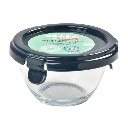 Recipient ermetic sticla Pyrex® Dark Blue - Hrana bebelusi - Accesorii alimentare