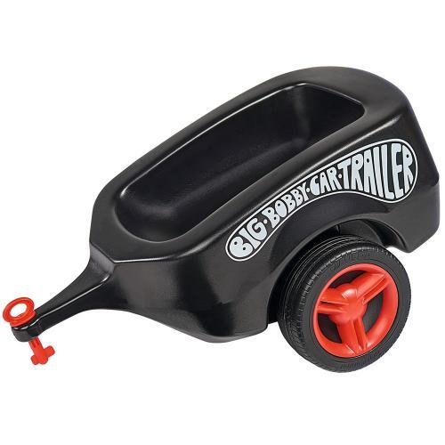 Remorca Big Bobby Car black - Plimbare bebe - Vehicule de impins