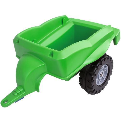 Remorca Big Trailer green - Plimbare bebe - Vehicule de impins