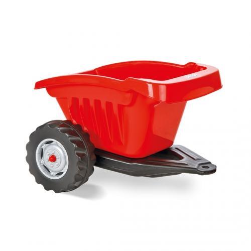 Remorca pentru tractor pilsan active rosie - Plimbare bebe - Vehicule cu pedale