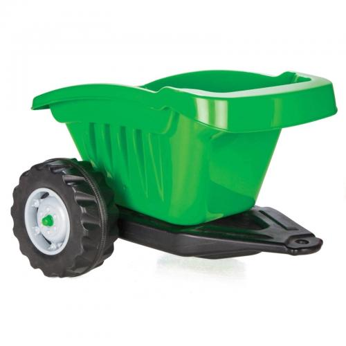 Remorca pentru tractor pilsan active verde - Plimbare bebe - Vehicule cu pedale