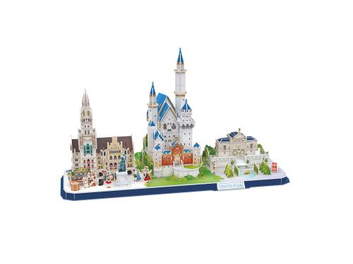 REVELL 3D Puzzle Bavarian Skyline - Jocuri pentru copii - Jocuri cu puzzle