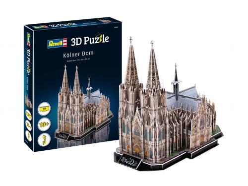 REVELL 3D Puzzle Cologne Cathedral - Jocuri pentru copii - Jocuri cu puzzle