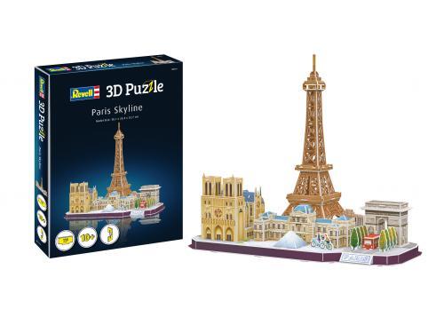 REVELL 3D Puzzle Paris Skyline - Jocuri pentru copii - Jocuri cu puzzle