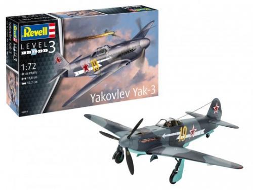 REVELL Model Set Yakovlev Yak-3 - Jucarii copilasi - Avioane jucarie