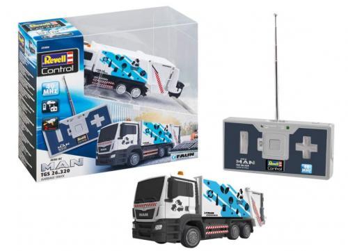 REVELL RC Mini Garbage Truck - Jucarii copilasi - Jucarii telecomanda