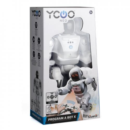 Robot electronic cu radiocomanda pr?gramm a bot x - Jucarii copilasi - Avioane jucarie