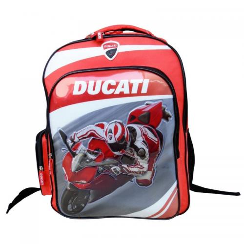 Rucsac Ducati 38 cm - Rechizite - Ghiozdane si trolere