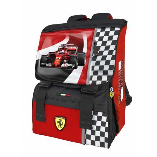 Rucsac extensibil si masinuta Ferrari - Rechizite - Ghiozdane si trolere