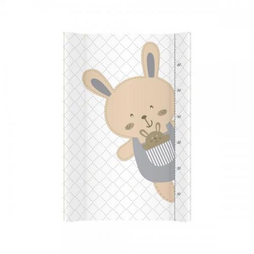 Saltea de infasat bebe cu intaritura 70x47 -5 Klups Happy Bunny 068 - Camera bebelusului - Masa infasat