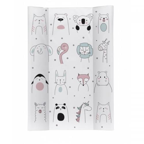 Saltea de infasat Soft 70x50 cm Happy Face Rotho-babydesign - Camera bebelusului - Masa infasat