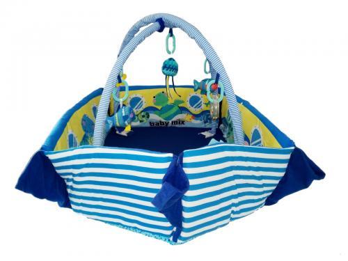 Saltea de joaca cu protectii laterale Boat - Camera bebelusului - Saltea de joaca