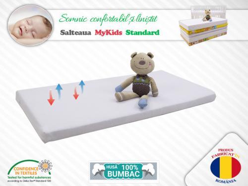 Saltea Fibra Cocos MyKids Standard II 120x60x10 (cm) - Camera bebelusului - Saltea patut