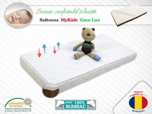 Saltea MyKids Coco Lux 120x60x11 (cm) - Camera bebelusului - Saltea patut