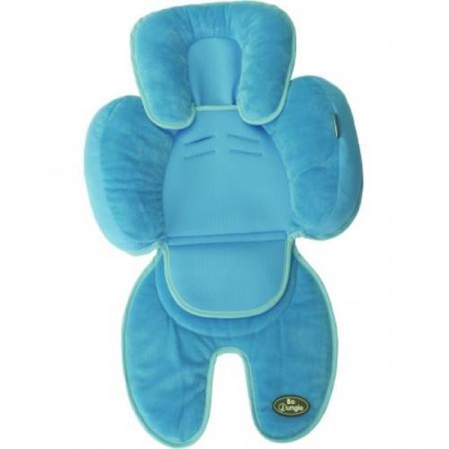 Saltea suplimentara bebelusi BO Jungle 3 in 1 pentru carucior - scaun auto - scoica - Albastra - Accesorii auto -