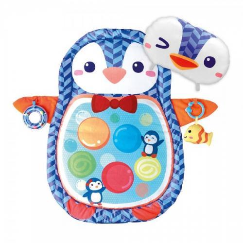 Salteluta Bebe Winfun Pinguin Cu Activitati - Camera bebelusului - Saltea de joaca