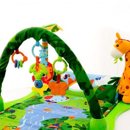 Salteluta de joaca eurobaby 8502 - Camera bebelusului - Saltea de joaca