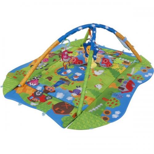 Salteluta de joaca sun baby 024 meadow - Camera bebelusului - Saltea de joaca