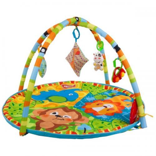 Salteluta de joaca sun baby 033 the jungle - Camera bebelusului - Saltea de joaca
