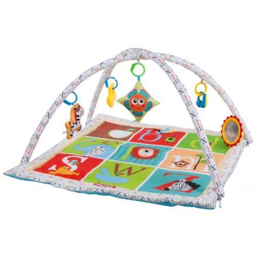 Salteluta de joaca sun baby 035 pet letters - Camera bebelusului - Saltea de joaca