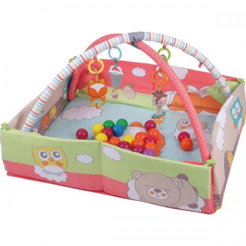 Salteluta de joaca sun baby 044 red fox - Camera bebelusului - Saltea de joaca