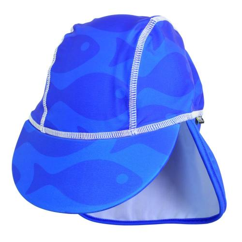 Sapca Fish blue 1- 2 ani protectie UV Swimpy - Plimbare bebe -