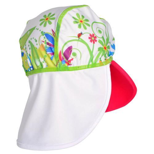 Sapca Flowers 2-4 ani protectie UV Swimpy - Plimbare bebe -