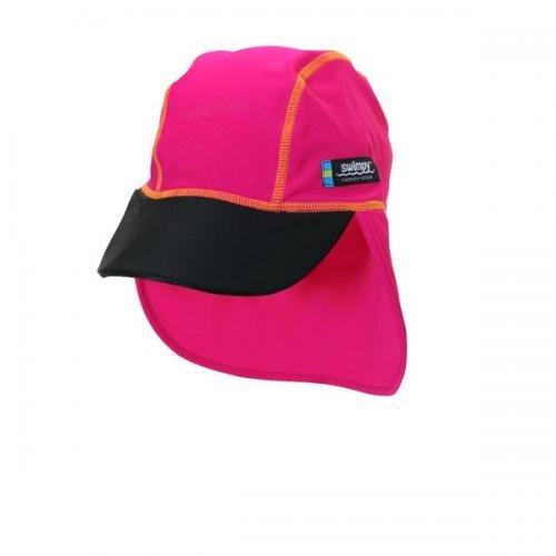 Sapca pink black 2- 4 ani protectie UV Swimpy - Plimbare bebe -