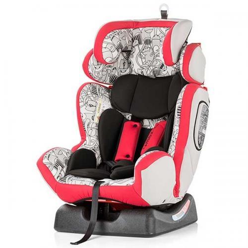 Scaun auto Chipolino 4 Max 0-36 kg red - Scaune auto copii - Scaun auto 9-36 Kg