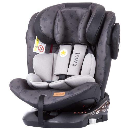 Scaun auto Chipolino Twist 0-36 kg graphite cu sistem Isofix - Scaune auto copii - Scaun auto 9-36 Kg