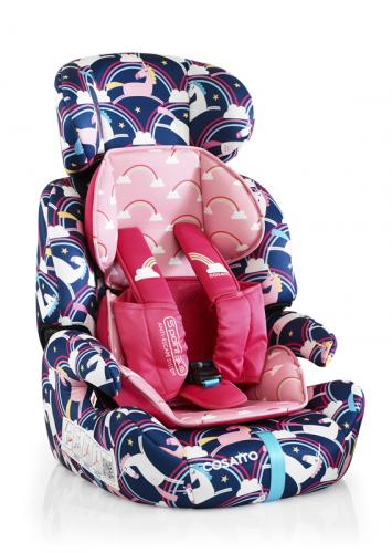 Scaun Auto Cosatto Zoomi 123 Magic Unicorns (5 Plus) - Scaune auto copii - Scaun auto 15-36 kg
