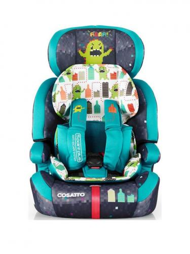 Scaun auto Cosatto Zoomi 123 Monster Arcade (5 Plus) - Scaune auto copii - Scaun auto 15-36 kg