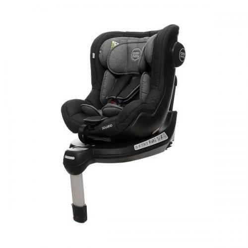 Scaun auto coto baby solario melange black 360 grade isofix 0-18 kg - Scaune auto copii - Scaun auto 9-18 Kg