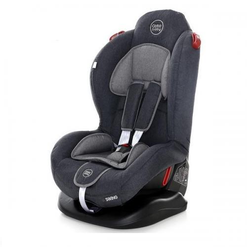 Scaun auto coto baby swing 9-25 kg melange dark grey new - Scaune auto copii - Scaun auto 9-25 Kg