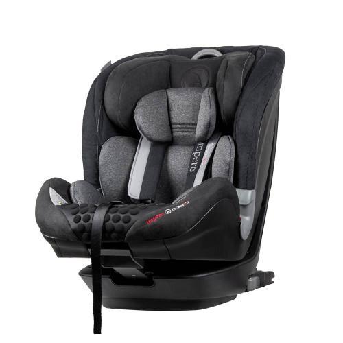 Scaun auto Impero cu Isofix si Top Tether 9-36 Kg Black Coletto - Scaune auto copii - Scune cu isofix