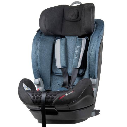 Scaun auto Impero cu Isofix si Top Tether 9-36 Kg Blue Coletto - Scaune auto copii - Scune cu isofix
