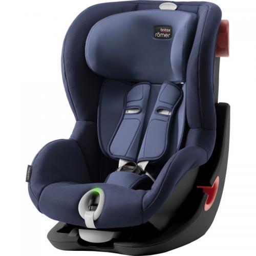 Scaun auto King II LS Black Series Moonligt blue Britax-Romer - Scaune auto copii - Scaun auto 9-18 Kg