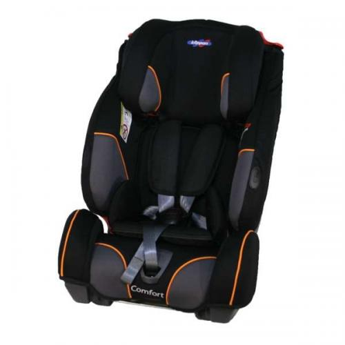 Scaun auto klippan triofix comfort 9-36 kg cu baza isofix black/orange - Scaune auto copii - Scaun auto 9-36 Kg