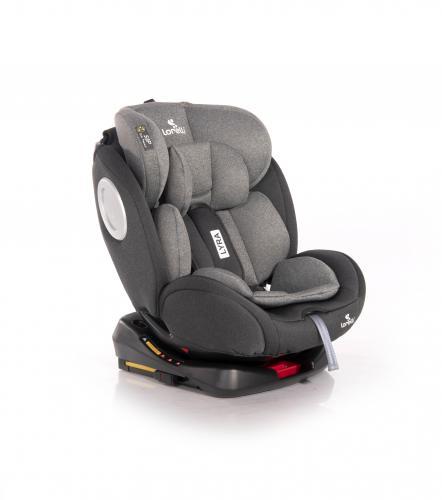 Scaun auto - lyra - isofix - rotativ 360 grade - 0-36 kg - black & grey - Scaune auto copii - Scaun auto 0-36 kg